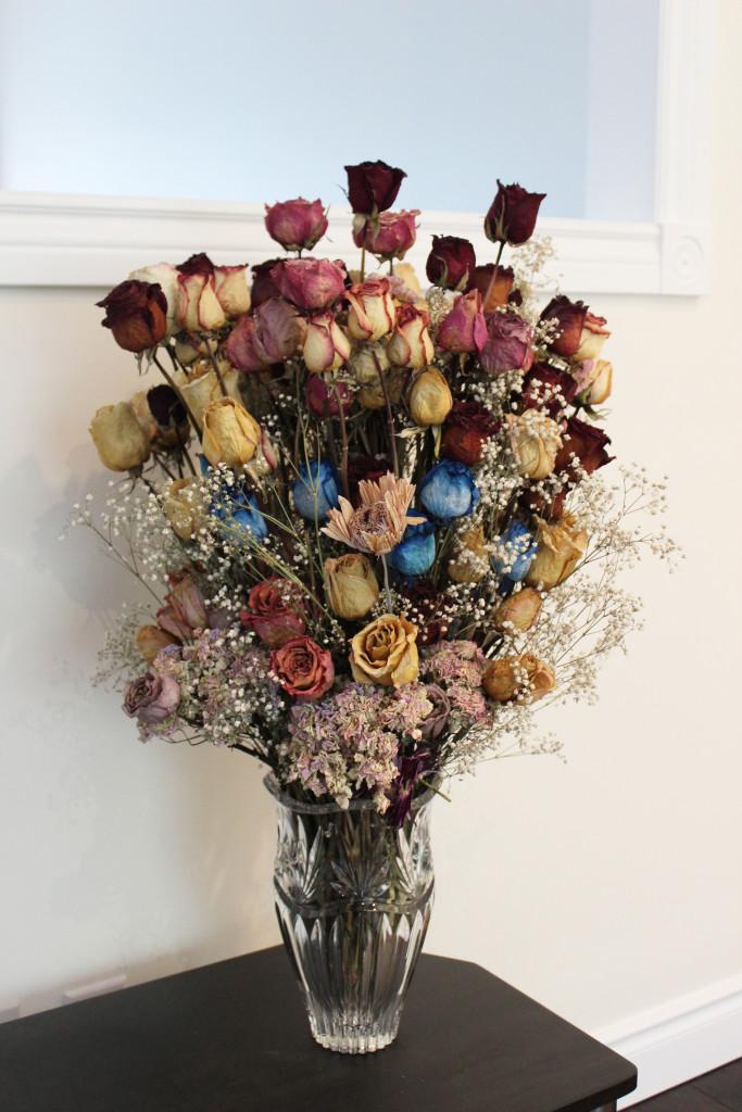 Dried Flowers Wedding