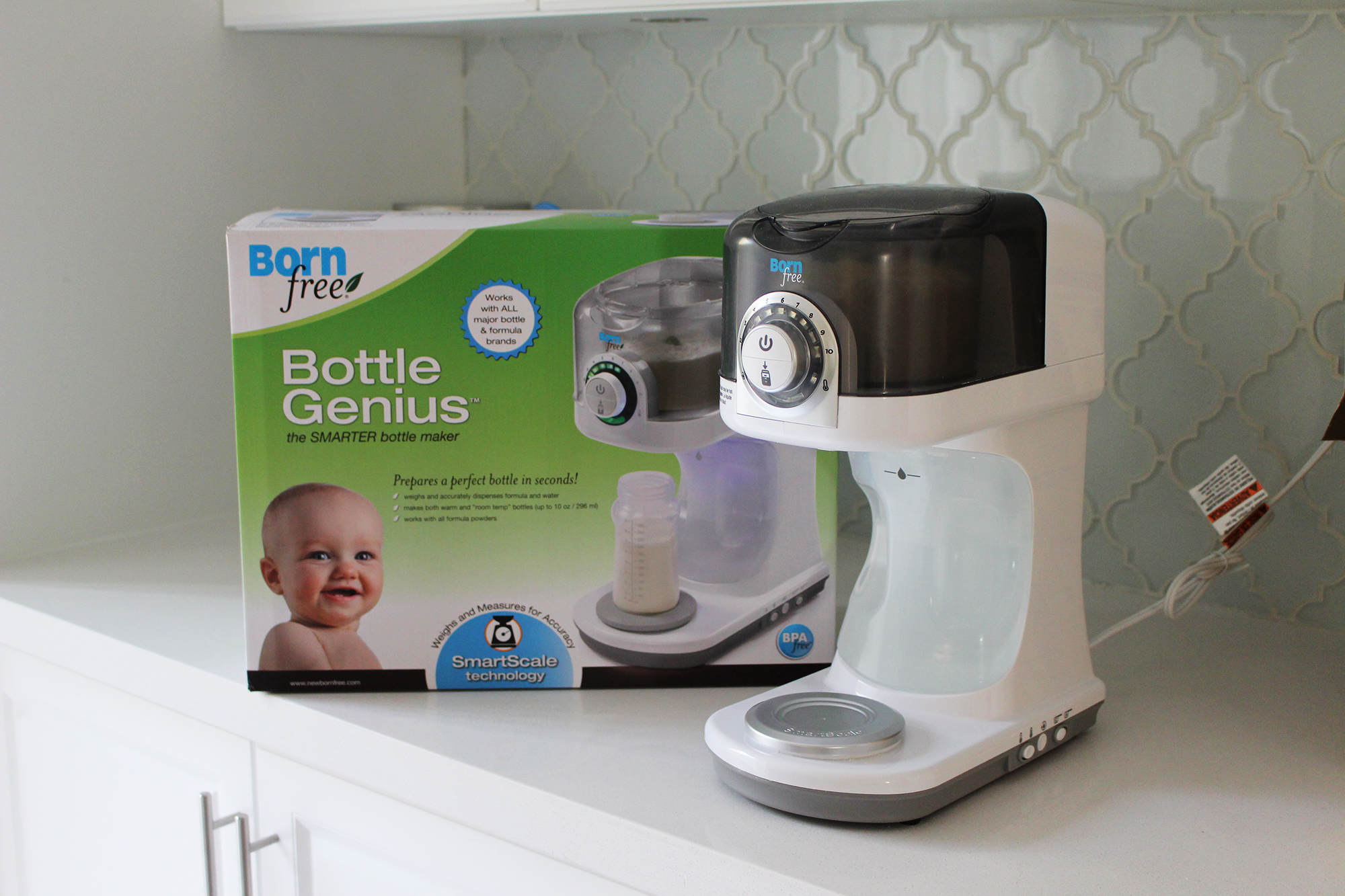 Product Review] Baby Gear Update: Born Free Bottle Genius, Enfamil ...