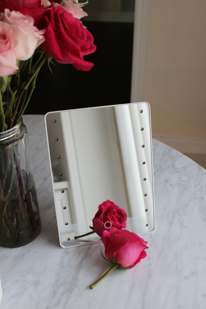 Dreams of Velvet - Sharper Image LED Mirror 1