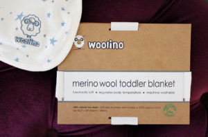 [Product Review] Woolino Merino Wool Toddler Blanket