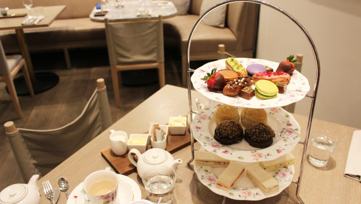 Afternoon Tea at Holts Café, Holt Renfrew (Yorkdale Mall) <em>Toronto </em>