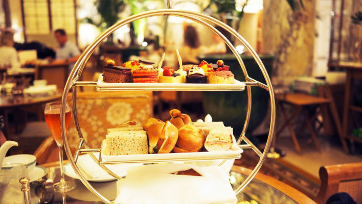 Afternoon Tea at The Plaza Hotel, <em>New York</em>