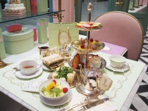 Afternoon Tea at Ladurée, Yorkdale Shopping Centre,<em>Toronto</em>