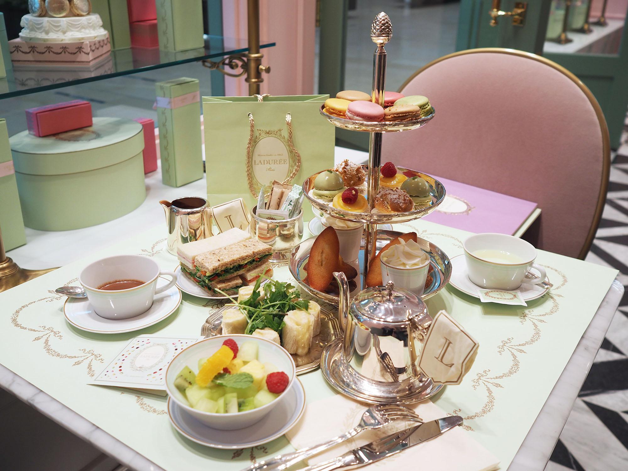 Macarons and Afternoon Tea at Ladurée Yorkdale, Toronto