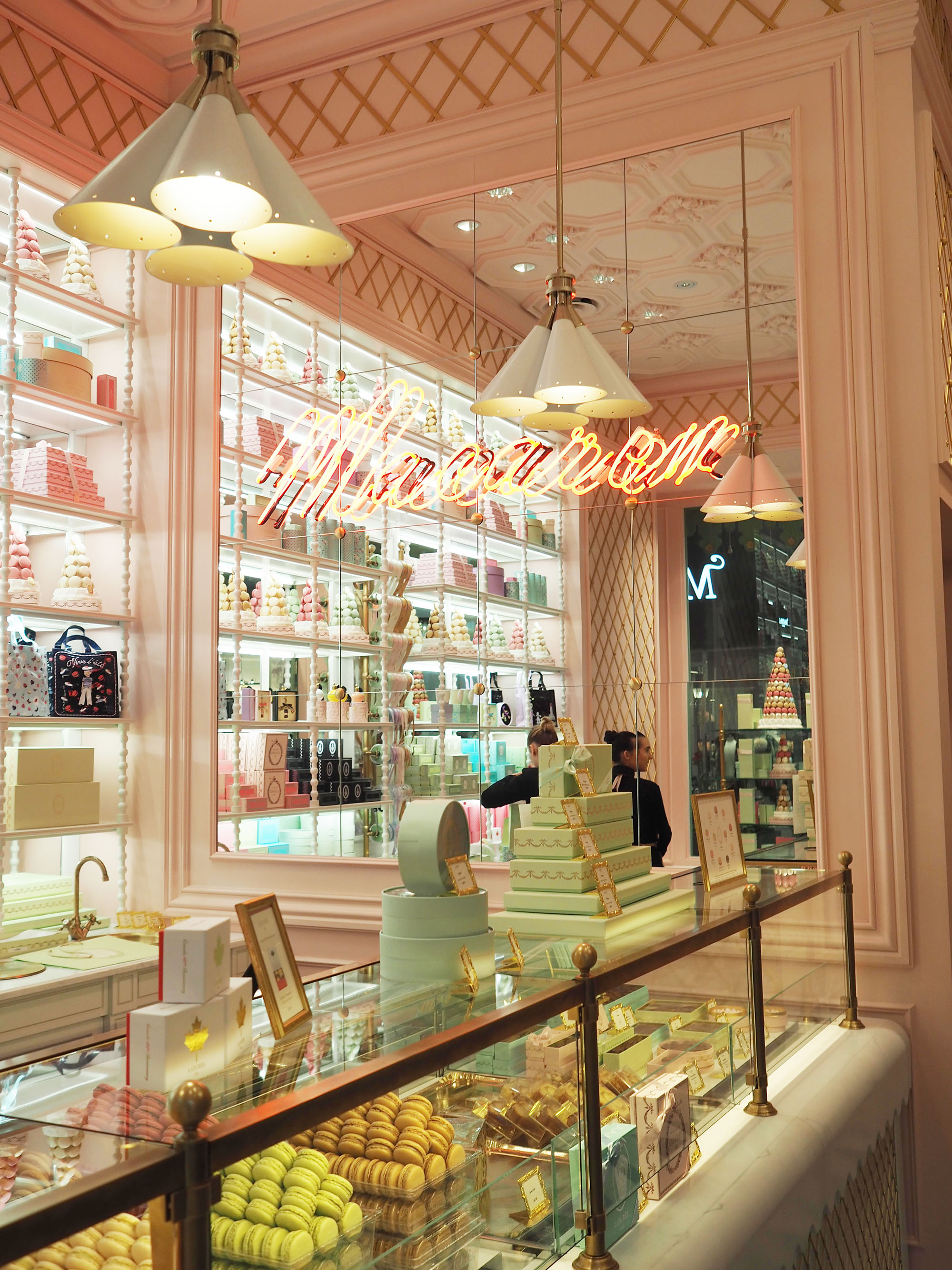 Ladurée, 398 W Broadway, New York, NY (2019)