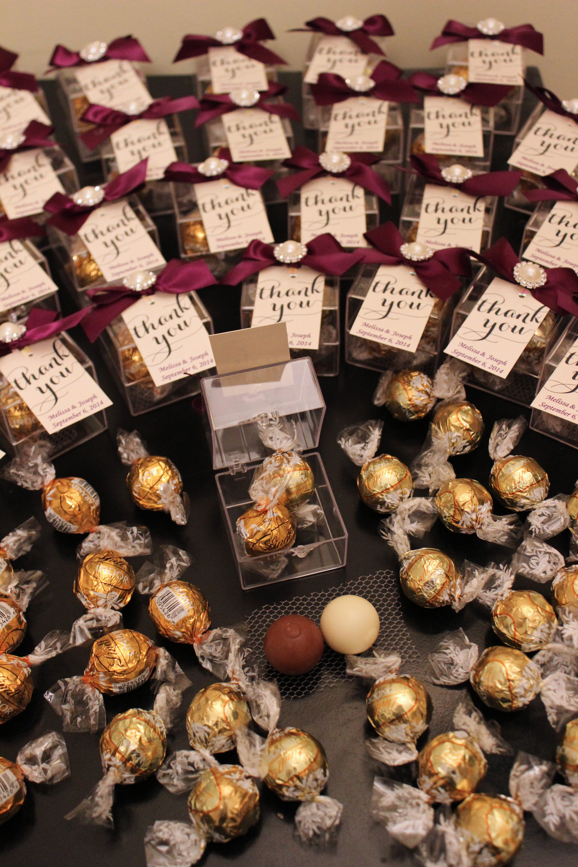 Daily Prep Wedding Favours Dreams Of Velvet 4 Therapyboxfo Chocolate Truffles